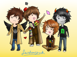 Fandomstuck by Dark-Dragon-Spirit