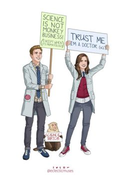 Fitzsimmons - March for Science by eclecticmuses