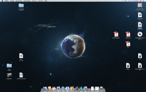 Mac OS X Syncmaster by mortifi