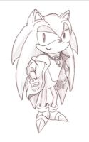Sonic concept for H.I. by Moon-Phantom
