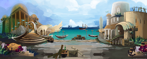 BG City Port by JinkiMania