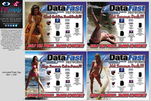 Data-Fast-Model-Poster by EYEcandyDesign
