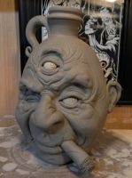 Three-Eyed Old Man- WIP by thebigduluth