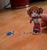 Hold Up a Sec...I Found a Dragon! - Silica PC by SparrowDust