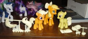 First casts from the new CMC molds by OtakuSquirrel