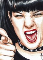 Abby Sciuto NCIS sketch by Dr-Horrible