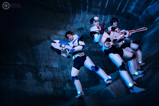 Lance, Shiro and Keith Cosplay II ~ Voltron by Yamato-Leaphere