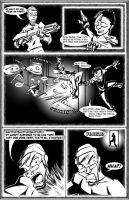 The Red Fly, issue 2: pg 6 by El-Wanker