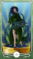 Queen of Cups by Shegon