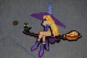 Witch Perler by evilpika