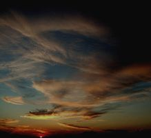 Evening Sky by Schlunfs