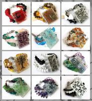 Fused bracelets by Faeriedivine
