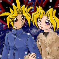 Winter stroll by EvilChibiNic