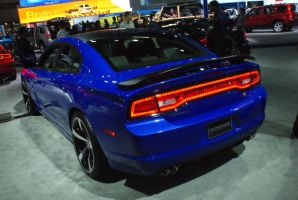 back of a blue charger by nuttbag93