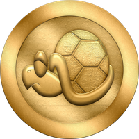 SML2: Turtle Zone Coin by BLUEamnesiac