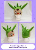 Chespin Hat by cutekick