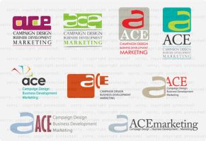 ACE logo ideas by hippiedesigner