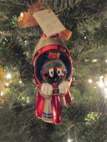 Marvin the Martian ornament by renthegodofhumor