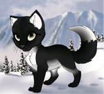 BlackPaw by YouonlyTHINKunome-AE