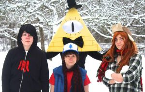 Gravity Falls Cosplay by BroFist-InTheFACE