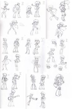 Equestria Girls 005 (and boys) by Khuzang