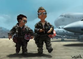 Top Gun by Caleb-Havertape