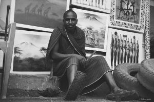 Mono Impressions - maasai III by Picture-Bandit