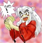 Inuyasha's Puppy colored by SangoChan56