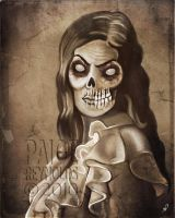 Portrait of the Dead by paigereynoldsart