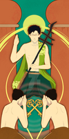 PN: TAROT PROJECT [V]The Hierophant by addaline