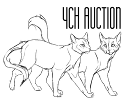 Cat couple YCH closed by ClimbToTheStars