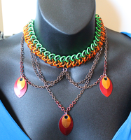 Falling Leaves Necklace 2 by SerenFey