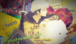 Trafalgar Law Signature by deejssj