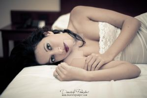 In white Lingerie by OttoMarzo