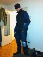 Solid Snake cosplay by M4n1nm1rr0r