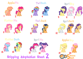 MLP | Shippings 2 | Point Adopts | CLOSED by cheesepuff2