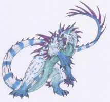 Mishipizhiw Roars by Scatha-the-Worm