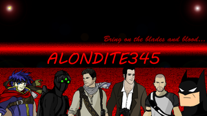 Youtube Banner for Alondite345 by DeathlyXpecter