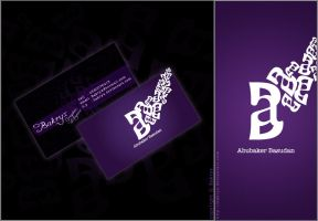 my Business card by Bakryx