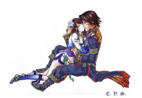 Xianghua and Kilik by evs-eme