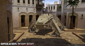 DAK SdKfz 222 Quadruped by Rob-Cavanna