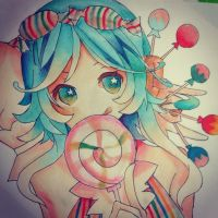 Candy candy gumi by kittysmash