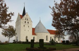 An Uncommon Danish Church by ThoughtMemory