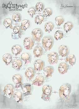 30 years of a blonde person by KaroliinaHankonen