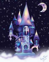 Magical Castle of Whimsy by Nimily