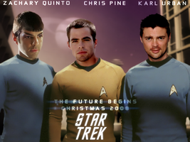 Star Trek XI Cast Wallpaper by cjmcguinness