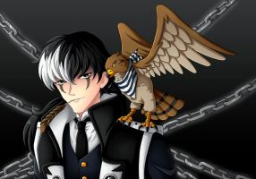 Simon Blackquill by CelestialRayna