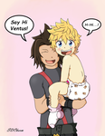 A Gift for a Friend: Ventus and Terra by SDCharm