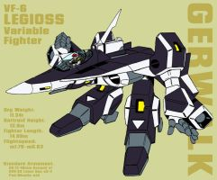 VF-6 Legioss - gerwalk by Grebo-Guru