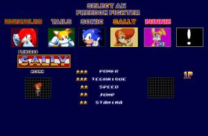 Sonic SatAm Fan Game Demo 2: The Cast So Far..... by ClassicSonicSatAm